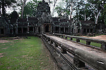 Late afternoon at Ta Prohm in Angkor Thom, Cambodia. June 7, 2013.