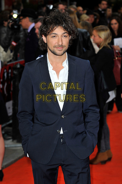Alex Zane <br /> Gala Screening of 'The Heat' at the Curzon Mayfair, London, England.<br /> June 13th 2013<br /> half length white shirt hands in pockets black blue suit jacket <br /> CAP/MAR<br /> &copy; Martin Harris/Capital Pictures