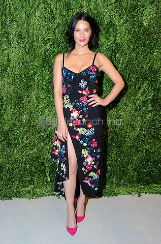 NEW YORK, NY - NOVEMBER 07:  Olivia Munn attends 13th Annual CFDA/Vogue Fashion Fund Awards at Spring Studios on November 7, 2016 in New York City. Photo by John Palmer/MediaPunch