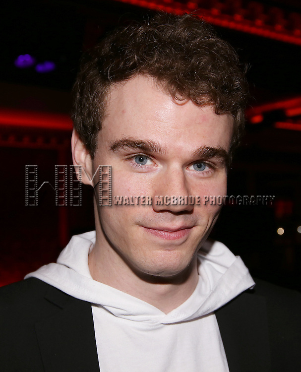 Jay Armstrong Johnson during the Feinsteins/54 Below Press Preview at Feinsteins/54 Below on April 7, 2016 in New York City.