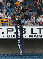 Preston fans<br /> <br /> Photographer Rob Newell/CameraSport<br /> <br /> The EFL Sky Bet Championship - Millwall v Preston North End - Saturday 3rd August 2019 - The Den - London<br /> <br /> World Copyright © 2019 CameraSport. All rights reserved. 43 Linden Ave. Countesthorpe. Leicester. England. LE8 5PG - Tel: +44 (0) 116 277 4147 - admin@camerasport.com - www.camerasport.com