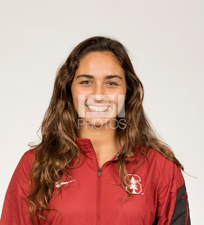 STANFORD, CA,. October 4, 2016—Stanford Women's Water Polo portrait.