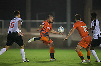 Paul Hayes of Wycombe Wanderers prepares to take a shot at goal during the Pre Season Friendly match between Maidenhead United and Wycombe Wanderers at York Road, Maidenhead, England on 28 July 2017. Photo by Andy Rowland.