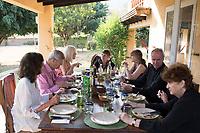 Lunch party. At San Jose with the parents and MargieCuatepetitla, San Jose de los Laureles, Tlayacapan, Morelos, Mexico