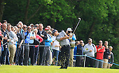 Jin JEONG (KOR) during round 2 of the 2015 BMW PGA Championship over the West Course at Wentworth, Virgina Water, London. 22/05/2015<br /> Picture Fran Caffrey, www.golffile.ie: