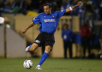 22 May 2004: Earthquakes Ramiro Corrales in action against Los Angeles Galaxy at Spartan Stadium in San Jose, California.   Earthquakes defeated Galaxy 4-2. Mandatory Credit: Michael Pimentel / ISI