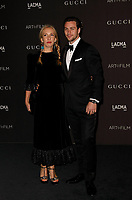 Sam Taylor-Johnson (L) and Aaron Taylor-Johnson attend 2018 LACMA Art + Film Gala at LACMA on November 3, 2018 in Los Angeles, California.    <br /> CAP/MPI/IS<br /> &copy;IS/MPI/Capital Pictures