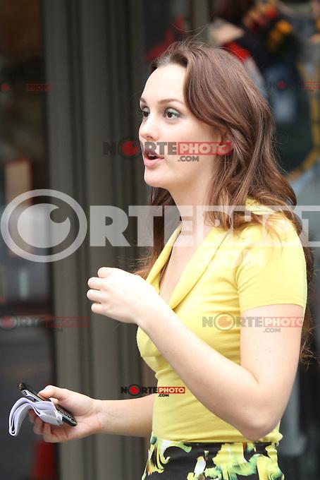 August 10, 2012  Leighton Meester shooting on location for  Gossip Girl in New York City.Credit:&copy; RW/MediaPunch Inc. /NortePhoto.com*<br /> <br /> **CREDITO*OBLIGATORIO** <br /> *No*Venta*A*Terceros*<br /> *No*Sale*So*third*<br /> *** No Se Permite Hacer Archivo**