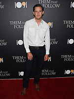 "30 July 2019 - Los Angeles, California - Lewis Pullman. ""Them That Follow"" Los Angeles Premiere held at the Landmark Theatre. Photo Credit: Billy Bennight/AdMedia"