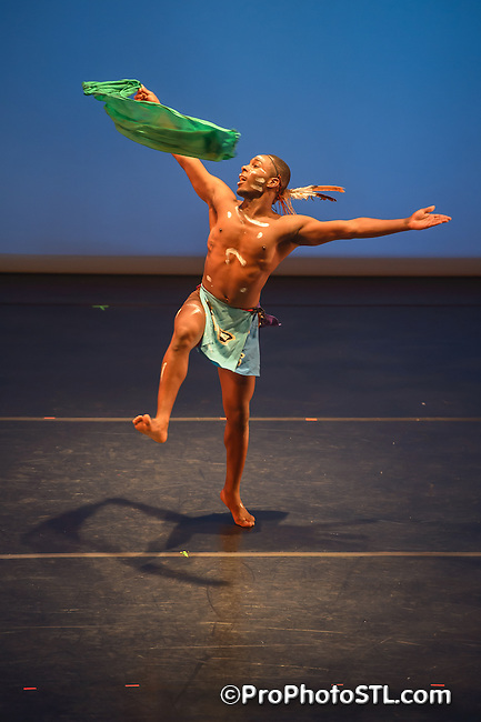 "Black Dance USA ""A Celebration in Movement"" show in Edison Theater at Washington University in St. Louis, MO on May 26, 2012."