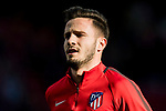 Saul Niguez Esclapez of Atletico de Madrid prior to the La Liga 2017-18 match between Atletico de Madrid and UD Las Palmas at Wanda Metropolitano  on January 28 2018 in Madrid, Spain. Photo by Diego Souto / Power Sport Images