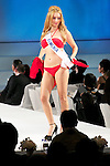 """Miss Armenia Shushanik Yeritsyan, November 11, 2014, Tokyo, Japan : Miss Armenia Shushanik Yeritsyan walks down the runway during """"The 54th Miss International Beauty Pageant 2014"""" on November 11, 2014 in Tokyo, Japan. The pageant brings women from more than 65 countries and regions to Japan to become new """"Beauty goodwill ambassadors"""" and also donates money to underprivileged children around the world thought their """"Mis International Fund"""". (Photo by Rodrigo Reyes Marin/AFLO)"""