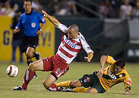 FC Dallas's.Los Angeles Galaxy's..the US Open Cup, in the half at the Home Depot Center, in Carson, Calif., Wednesday, September 28, 2005.