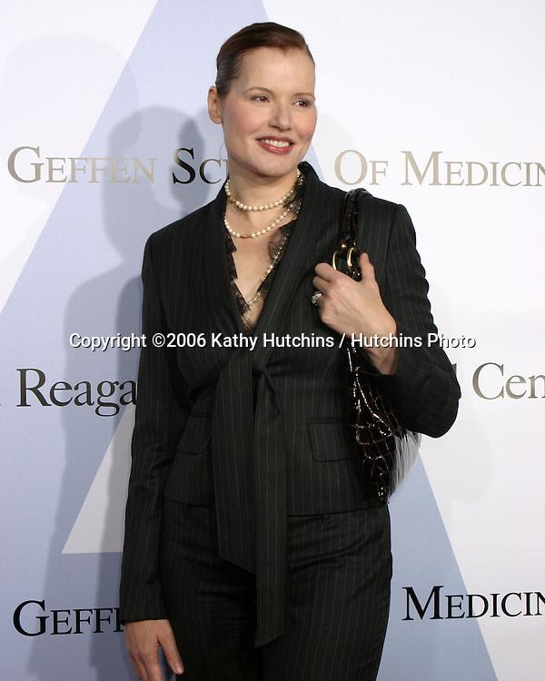 .Milleinnum Ball.UCLA Medical Center.Westwood, CA.October 5, 2006.©2006 Kathy Hutchins / Hutchins Photo....                 Geena Davis .Milleinnum Ball.UCLA Medical Center.Westwood, CA.October 5, 2006.©2006 Kathy Hutchins / Hutchins Photo....