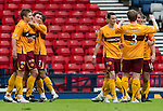 Motherwell v St Johnstone.....16.04.11  Scottish Cup Semi-Final.John Sutton celebrates his goal.Picture by Graeme Hart..Copyright Perthshire Picture Agency.Tel: 01738 623350  Mobile: 07990 594431