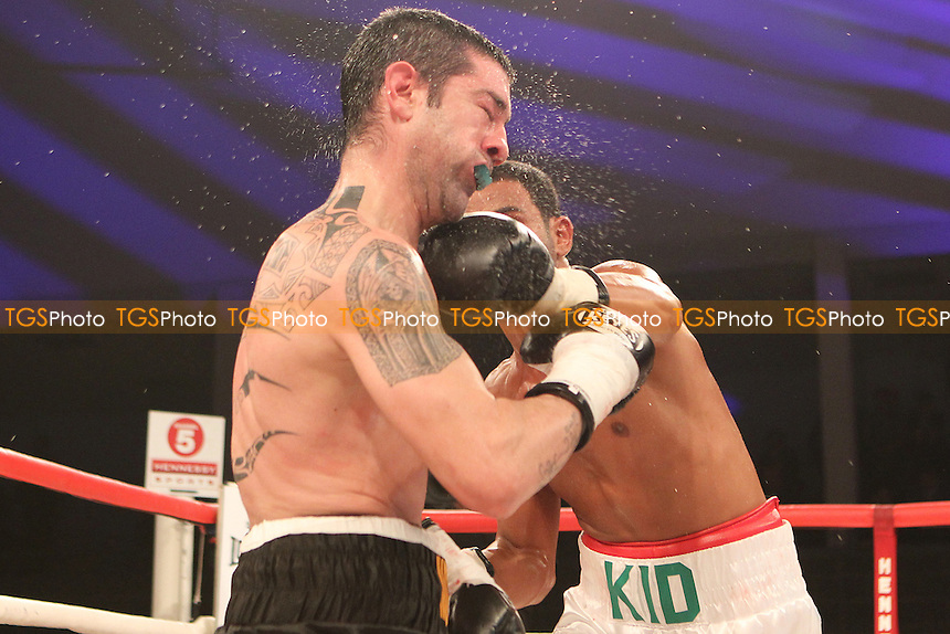 Kid Galahad vs Ivan Ruiz Morotein a boxing contest at the Bonus Arena, Hull promoted by Hennessy Sports - 08/12/11 - MANDATORY CREDIT: Chris Royle/TGSPHOTO - Self billing applies where appropriate - 0845 094 6026 - contact@tgsphoto.co.uk - NO UNPAID USE..