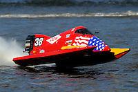 Jeff Shepherd's Pugh/Mercury F1/Formula 1 class.Bay City River Roar, Bay City,Michigan USA.26-2821 June, 2009..©F. Peirce Williams 2009 USA.F.Peirce Williams.photography.ref: RAW (.NEF) File Available