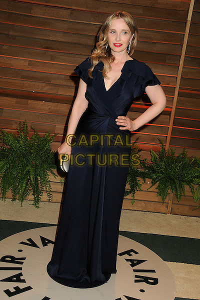 02 March 2014 - West Hollywood, California - Julie Delpy. 2014 Vanity Fair Oscar Party following the 86th Academy Awards held at Sunset Plaza.  <br /> CAP/ADM/BP<br /> &copy;Byron Purvis/AdMedia/Capital Pictures