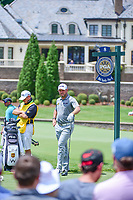 Lee Westwood (GBR) waits to tee off on 8 during Saturday's round 3 of the PGA Championship at the Quail Hollow Club in Charlotte, North Carolina. 8/12/2017.<br /> Picture: Golffile | Ken Murray<br /> <br /> <br /> All photo usage must carry mandatory copyright credit (&copy; Golffile | Ken Murray)