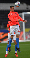 Blackburn Rovers' Darragh Lenihan  But why is he wearing Lewis Travis's training top?<br /> <br /> Photographer Dave Howarth/CameraSport<br /> <br /> The Premier League - Hull City v Blackburn Rovers - Tuesday August 20th 2019  - KCOM Stadium - Hull<br /> <br /> World Copyright © 2019 CameraSport. All rights reserved. 43 Linden Ave. Countesthorpe. Leicester. England. LE8 5PG - Tel: +44 (0) 116 277 4147 - admin@camerasport.com - www.camerasport.com