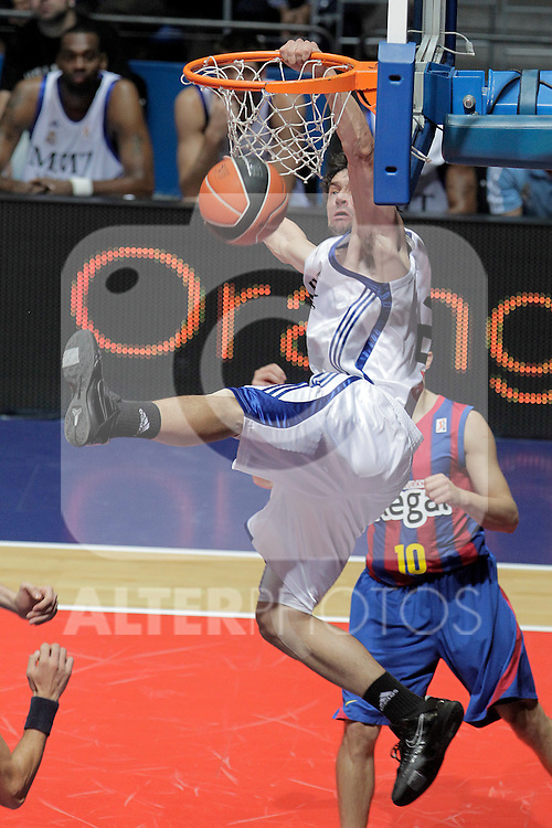 Real Madrid's Sergio LLull during ACB Supercup Semifinal match.September 24,2010. (ALTERPHOTOS/Acero)