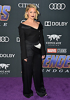 "LOS ANGELES, USA. April 22, 2019: Olivia Holt at the world premiere of Marvel Studios' ""Avengers: Endgame"".<br /> Picture: Paul Smith/Featureflash"