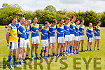 The Cordal team that played Firies at the opening of the Cordal GAA pitch on Sunday