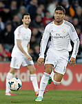 Real Madrid's Carlos Henrique Casemiro during La Liga match.February 16,2014. (ALTERPHOTOS/Acero)