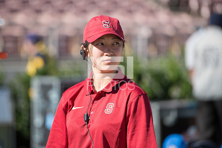 PASADENA, CA - November 28, 2014: The Stanford Cardinal vs the UCLA Bruins at the Rose Bowl in Pasadena, California. Final score, Stanford Cardinal 31, UCLA Bruins 10.