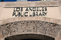 Los Angeles, Central Library, Architectural, Building, Calif. California CA, Downtown, LA,