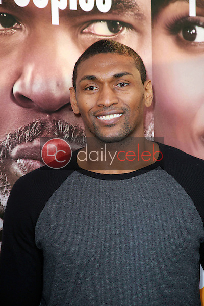 """Metta World Peace<br /> at the """"Peeples"""" World Premiere, Arclight, Hollywood, CA 05-08-13<br /> David Edwards/Dailyceleb.com 818-249-4998"""