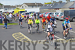 AWAY WE GO: The start of the Kerry Emergency Services Charity Cycle at the Kerins O'Rahillys clubhouse, Tralee on Saturday.