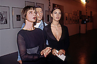 Isabella Rosselini, Monica Bellucci, Stefano Gabbana