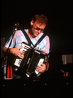Bruce Hornsby with The Grateful Dead at Pine Knob Music Theatre, Clarkston, MI on 19 June 1991