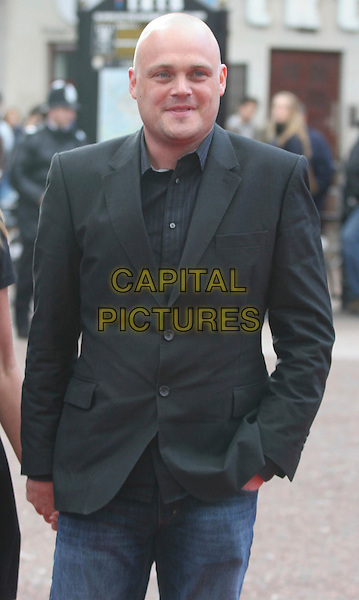 "AL MURRAY .Attending the ""Iron Man"" UK Film Premiere at the Odeon, Leicester Square, London, England, .24th April 2008..half length black suit jacket shirt .CAP/DS.©Dudley Smith/Capital Pictures"