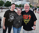 Fans outside the Kiss concert at the Toyota Center Monday Sept. 09,2019.(Dave Rossman Photo)