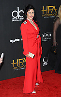 Maria Conchita Alonso at the 21st Annual Hollywood Film Awards at The Beverly Hilton Hotel, Beverly Hills. USA 05 Nov. 2017<br /> Picture: Paul Smith/Featureflash/SilverHub 0208 004 5359 sales@silverhubmedia.com