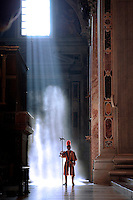 Pontifical Swiss Guard.The Corps of the Pontifical Swiss Guard or Swiss Guard,Guardia Svizzera Pontificia,responsible for the safety of the Pope, including the security of the Apostolic Palace. It serves as the de facto military of Vatican City..10/10/2009.