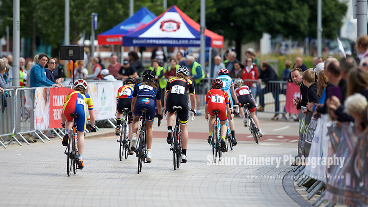 Pix: Shaun Flannery/shaunflanneryphotography.com<br /> <br /> COPYRIGHT PICTURE&gt;&gt;SHAUN FLANNERY&gt;01302-570814&gt;&gt;07778315553&gt;&gt;<br /> <br /> 11th June 2017<br /> Doncaster Cycle Festival 2017<br /> Under 16/14 Girls and Under 14 Boys<br /> Sponsored by Keepmoat