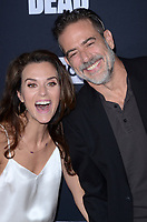 """LOS ANGELES - SEP 23:  Hilarie Burton, Jeffrey Dean Morgan at the """"The Walking Dead"""" Season 10 Premiere Event at the TCL Chinese Theater on September 23, 2019 in Los Angeles, CA"""