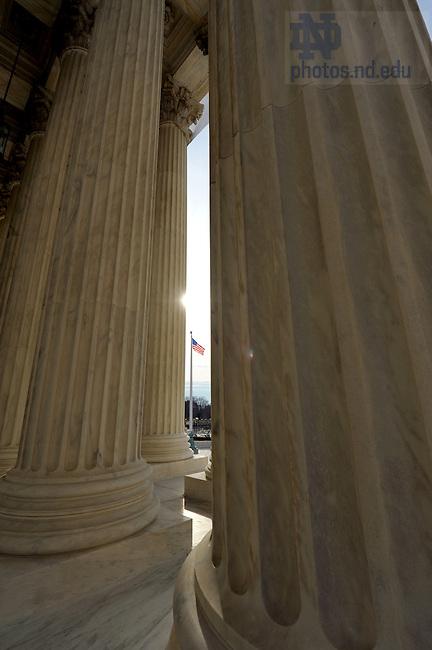 United States Supreme Court Building, Washington D.C...Photo by Matt Cashore/University of Notre Dame