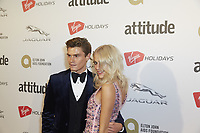 www.acepixs.com<br /> <br /> October 12 2017, London<br /> <br /> Oliver Cheshire and Pixie Lott arriving at the Virgin Holidays Attitude Awards 2017 at the Roundhouse on October 12 2017 in London.<br /> <br /> By Line: Famous/ACE Pictures<br /> <br /> <br /> ACE Pictures Inc<br /> Tel: 6467670430<br /> Email: info@acepixs.com<br /> www.acepixs.com
