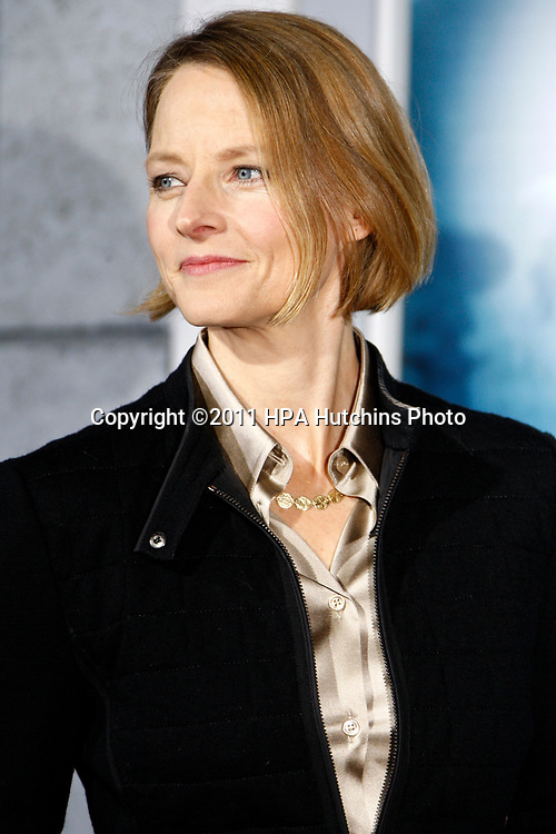 "LOS ANGELES - DEC 6:  Jodie Foster at the ""Sherlock Holmes: A Game Of Shadows""  Premiere at the Village Theater on December 6, 2011 in Westwood, CA"