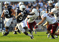 20 September 2014:  The Penn State Nittany Lions defeated the University of Massachusetts Minutemen 48-7 at Beaver Stadium in State College, PA.