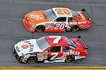 Feb 12, 2009; 2:40:43 PM; Daytona Beach, FL, USA; NASCAR Sprint Cup Series race of the Gatorade Duel at Daytona International Speedway.  Mandatory Credit: (thesportswire.net)