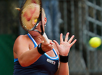 France, Paris, 27.05.2014. Tennis, French Open,Roland Garros, Kiki Bertens (NED) in her match against Alexandra Cadantu (ROU)<br /> Photo:Tennisimages/Henk Koster