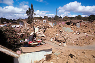 On February 4, 1976, Guatemala was struck by a major 7.5 magnitude earthquake, which contributed to the high death toll of 23.000 and about 80.000 wounded. It happened during the night and most adobe type houses in mountain villages collapsed. The reconstruction was difficult and lasted a couple of years.