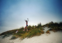 Dune Jumper at the beach.<br />