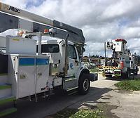 2017 FPL Hurricane Irma restoration in Fort Lauderdale, Fla. on Sept. 11, 2017
