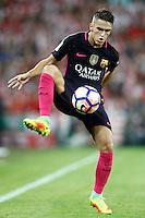 FC Barcelona's Denis Suarez during La Liga match. August 28,2016. (ALTERPHOTOS/Acero) /NORTEPHOTO